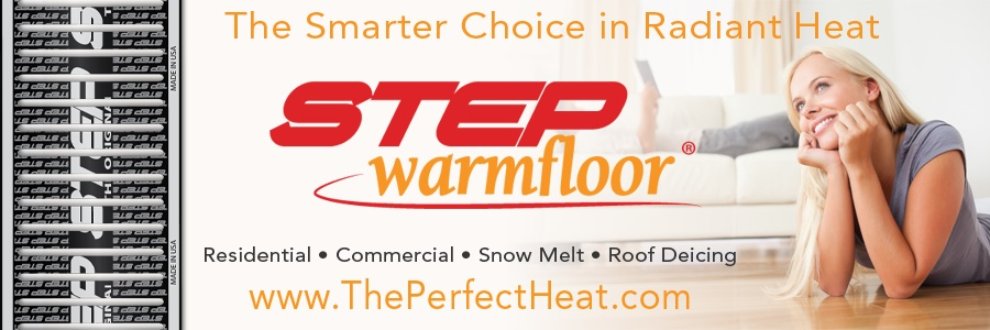 Step Warmfloor is a best in class product selection at Lenihan Lumber