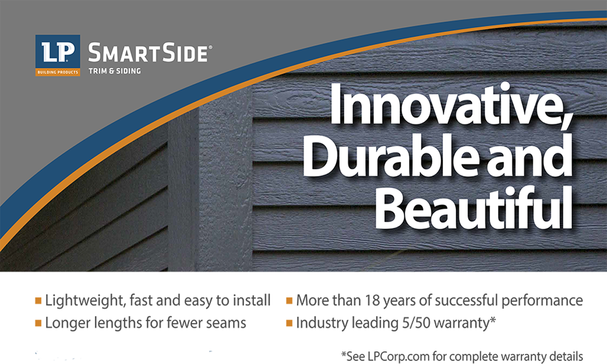 LP Smartside is a best in class product selection at Lenihan Lumber
